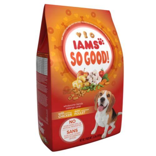 Nourriture Iams So Good poulet, chien, 3,2 lb Image de l'article
