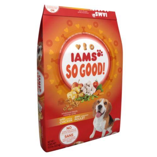 INourriture Iams So Good poulet, chien, 13,5 lb Image de l'article