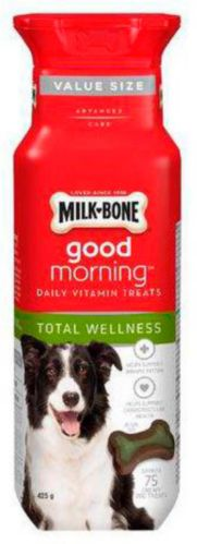 Milk-Bone Good Morning Total Wellness Dog treat Value Pack Product image