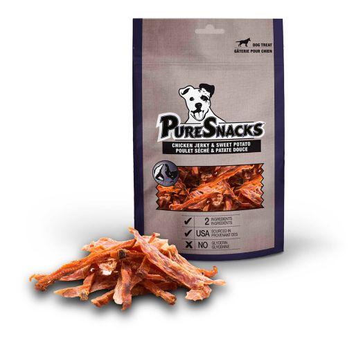 Charquis PureSnacks pour chien, poulet et patate douce, format économique Image de l'article