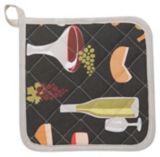Danica Wine & Cheese Potholder | Danicanull