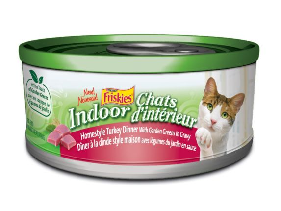 Friskies Turkey Wet Indoor Cat Food, 156 g Product image