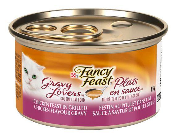 Dîner Purina Fancy Feast plats en sauce, poulet, 85 g Image de l'article