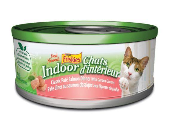 Dîner Friskies, saumon, chat d'intérieur, 156 g