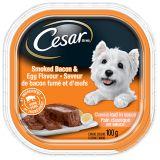 Cesar Sunrise Smoked Bacon & Eggs Wet Dog Food, 100-g | Cesarnull