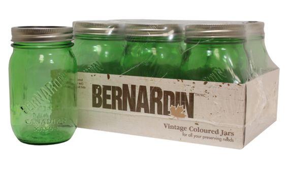 Bocaux d'époque Bernardin Mason, 500 ml, paq. 6 Image de l'article