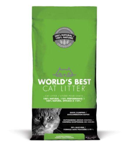Litière World's Best Cat Litter, formule agglomérante, 3,63 kg Image de l'article