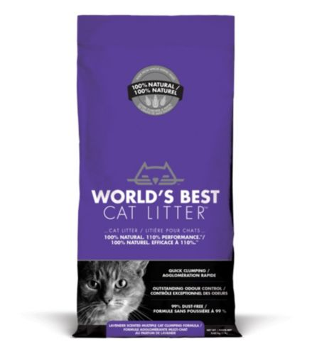 World's Best Cat Litter Scented Multiple Cat Clumping Formula, 3.63-kg