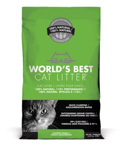Litière World's Best Cat Litter, formule agglomérante, 6,8 kg