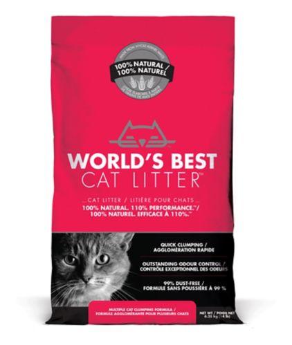 World's Best Cat Litter Multiple Cat Clumping Formula, 6.35-kg Product image