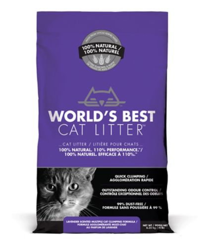 World's Best Cat Litter Scented Multiple Cat Clumping Formula, 6.35-kg Product image