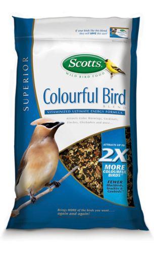 Graines pour oiseaux aux couleurs vives Scotts, 6,3 kg Image de l'article