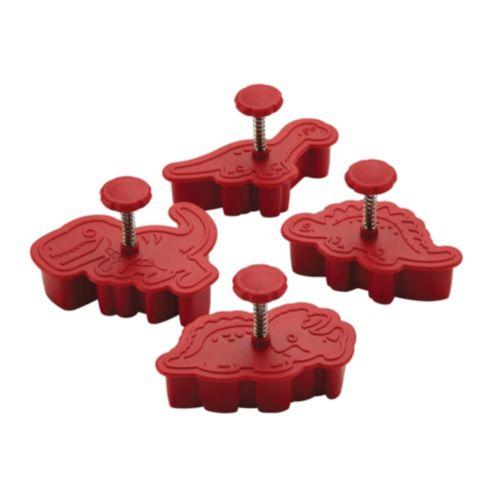 Emporte-pièces Cake Boss, dinosaure, 4 pces Image de l'article