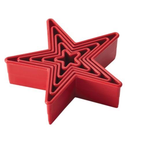 Emporte-pièces Cake Boss, étoile, 5 pces Image de l'article