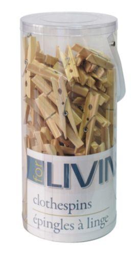 Wood Clothes Pins, 100-pk Product image