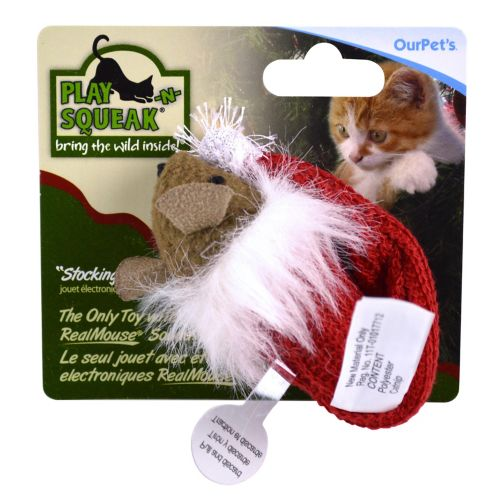 Play 'N' Squeak Stocking Stuffer Mouse Cat Toy Product image