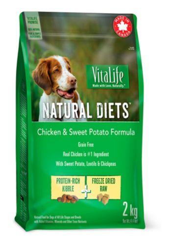 Vitalife Chicken & Sweet Potato Dog Food Formula, 2-kg