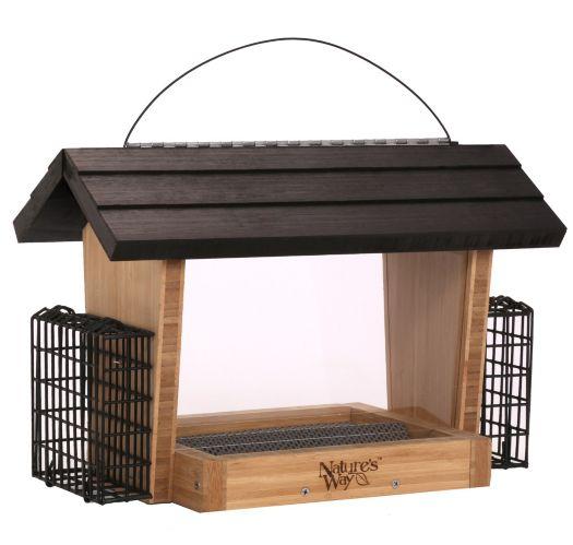 Mangeoire à oiseaux en bambou Natures Way Image de l'article