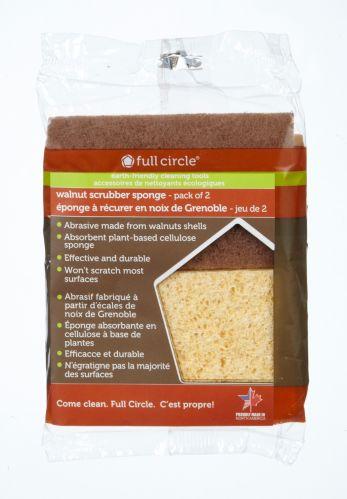 Walnut Scrubber Sponge Product image