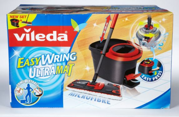 Vileda Easy Wring Ultramat Spin Mop and Bucket Product image