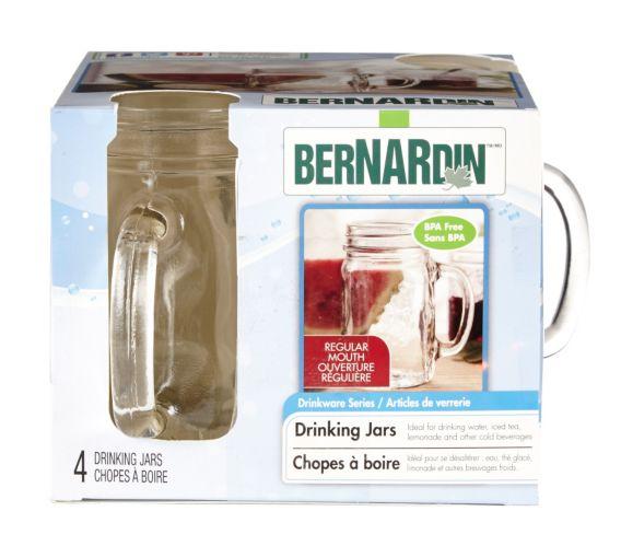 Bernardin Drinking Jar Mugs, 4-pk Product image