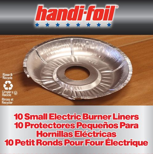 Handi-Foil Small Electric Burner Liners, 10-pk Product image