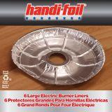Grands protège-ronds de cuisinière électrique Handi-Foil, 10 | Handi-Foilnull