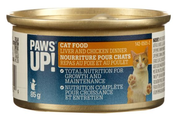 PAWS UP! Nourriture pour chats, 85 g