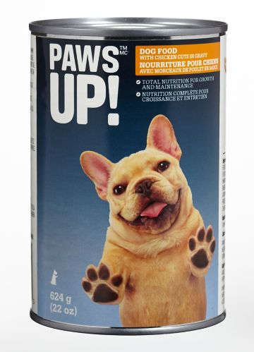 PAWS UP! Chicken Cuts, 624 g
