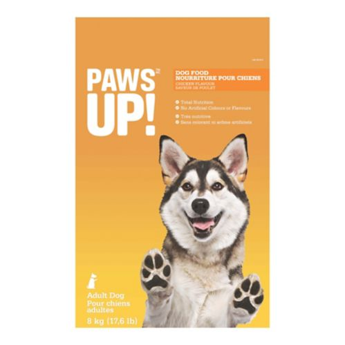 PAWS UP! Chicken Dog Food, 8-kg