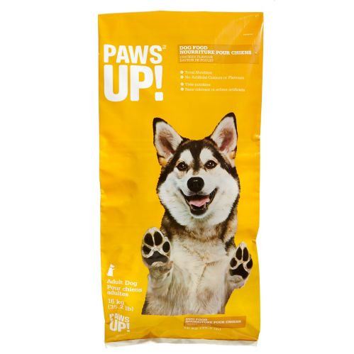 PAWS UP! Chicken Dog Food, 16-kg