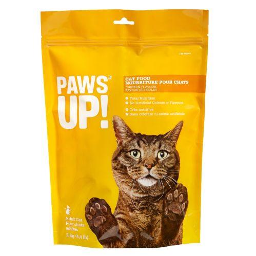 Nourriture sèche pour chats PAWS UP!, poulet, 2 kg Image de l'article