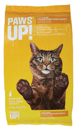 PAWS UP! Chicken Dry Cat Food, 4-kg Product image