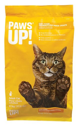 Nourriture sèche pour chats PAWS UP!, poulet, 8 kg Image de l'article