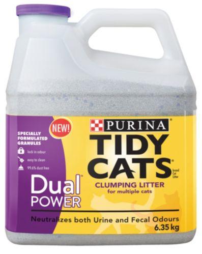 Litière Purina Tidy Cats Double puissance, 14 lb Image de l'article