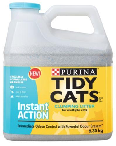 Litière Purina Tidy Cats Action instantanée