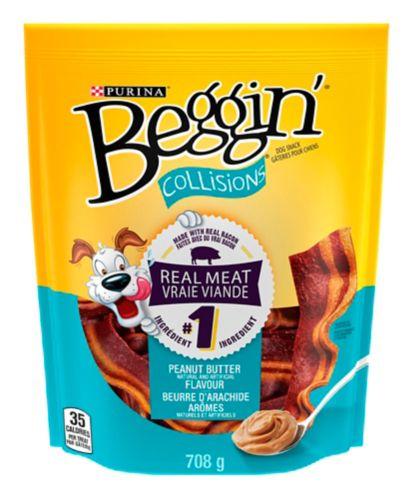 Friandises Beggin Collisions bacon/beurre d'arachide, 708 g Image de l'article