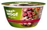Iams Woof Delights Beef & Vegetable, 8-oz | Iamsnull