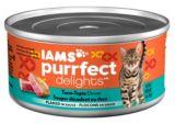 Iams Purrfect Delights Tuna-Topia Dinner, 3-oz | Iamsnull