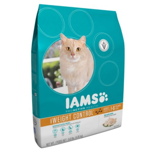 Nourriture pour chats Iams Weight Control, 4,6 kg