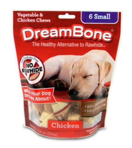 Os à mâcher DreamBone, légumes et poulet, paq. 6 Image de l'article