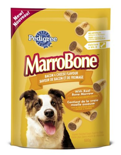 Gâteries Pedigree MarroBone, bacon fromage, chien Image de l'article