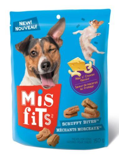 Gâteries Misfits Méchants morceaux, chien, 150 g