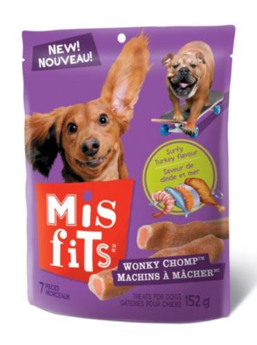 Gâteries Misfits Machins à mâcher, chien, 152 g Image de l'article