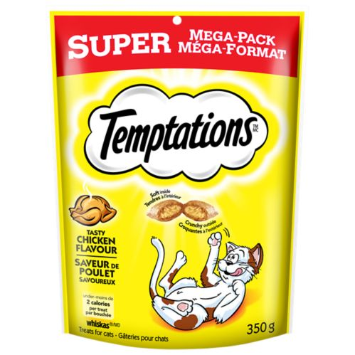 Temptations Super Mega Pack Cat Treats, 350-g