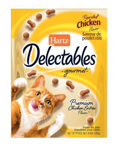 Gâteries Hartz Delectables au poulet, chat, 140 g Image de l'article