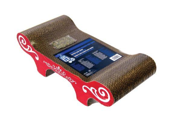 Catit Style Scratcher with Catnip Bench