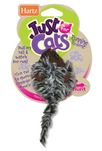Hartz Just for Cats Running Rodent Cat Toy