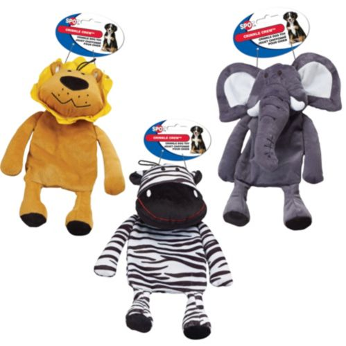 Crinkle Crew Dog Toys, Assorted Product image