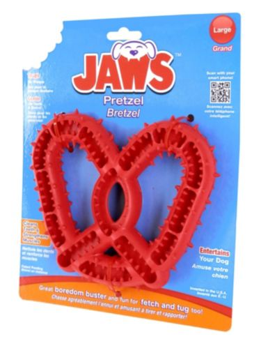 Jaws Pretzel Dental Chew Toy Product image